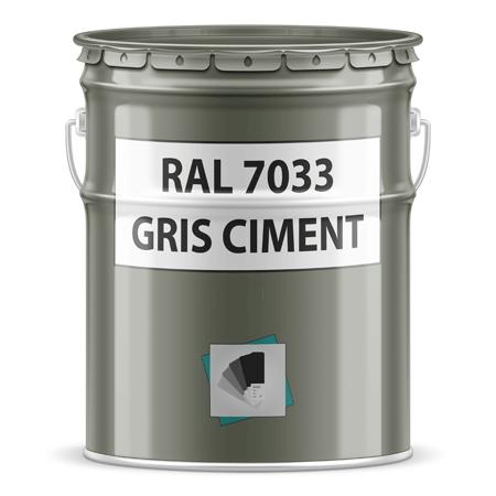 Peinture Ral 7033 Gris Ciment En Bombe Ou En Pot
