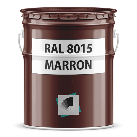 Ral 8015 Marron Pot Ou Bombe Peinture Ral