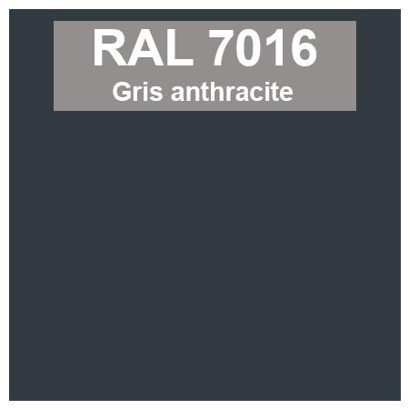 Peinture RAL 7016 gris anthracite - en bombe ou en pot